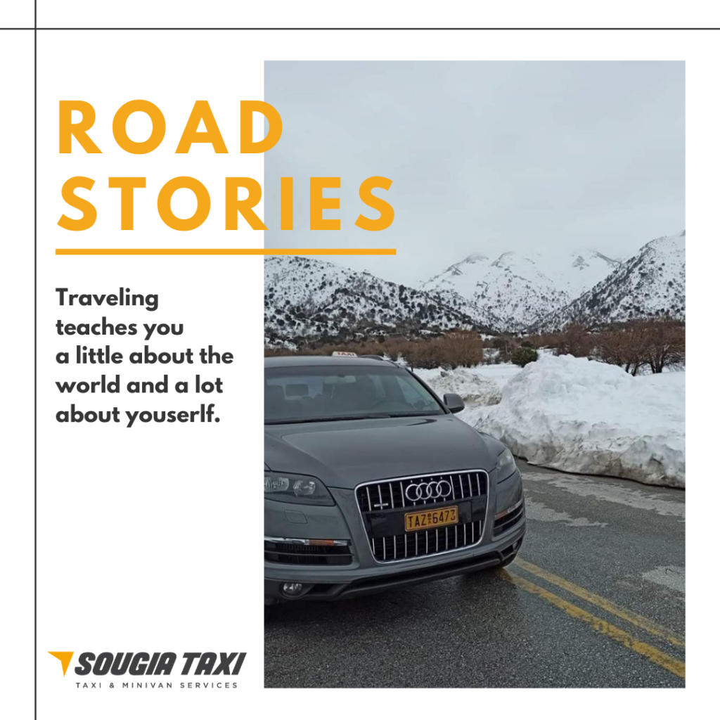 Sougia Taxi Winter Story